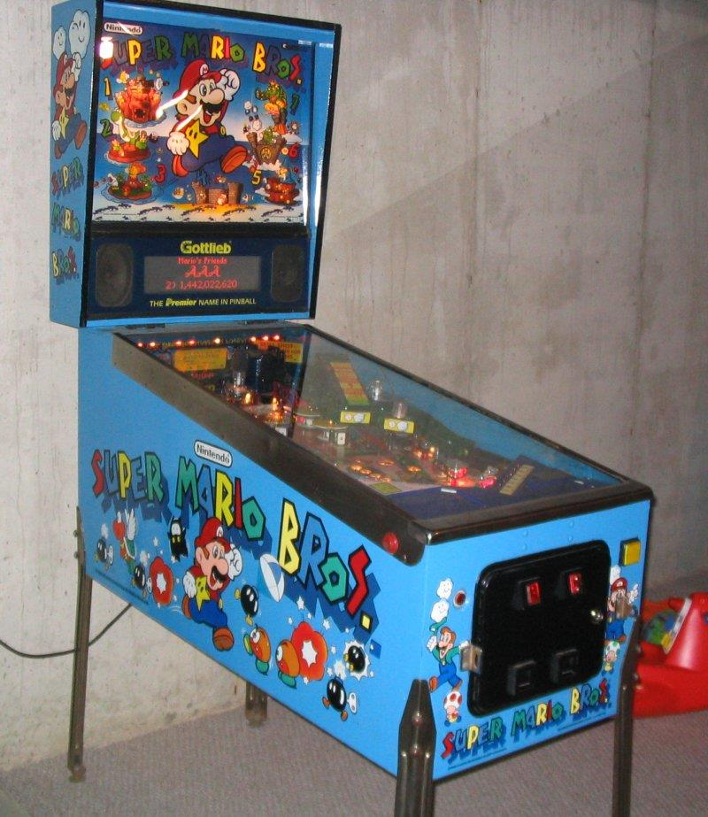 Gottlieb Super Mario Bros Pinball Excellent Shape For Sale By